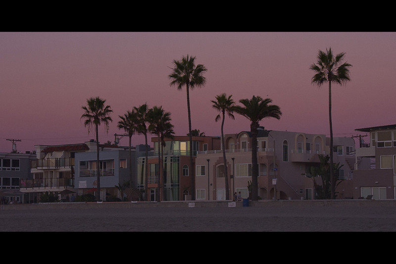 Evening at Mission Beach