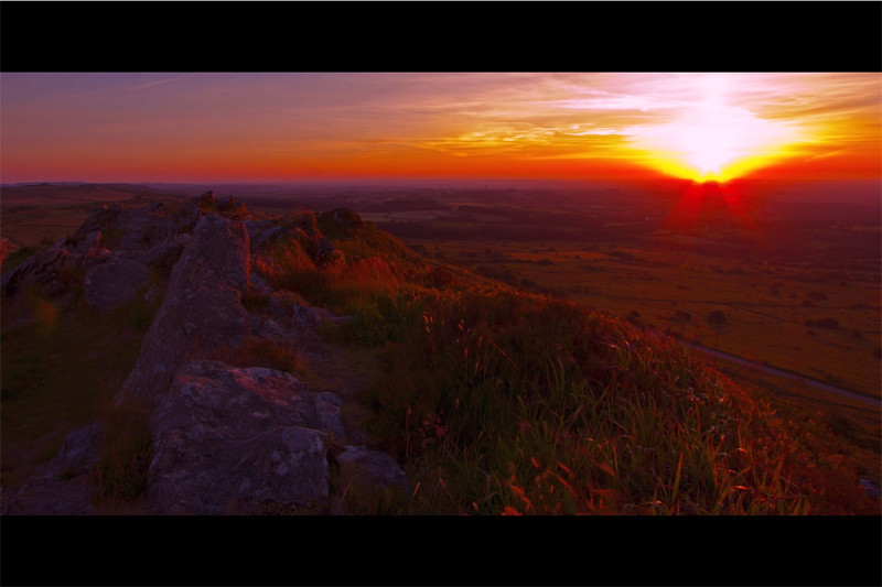 Movie of Monts d'Arree, fabled land in Brittany