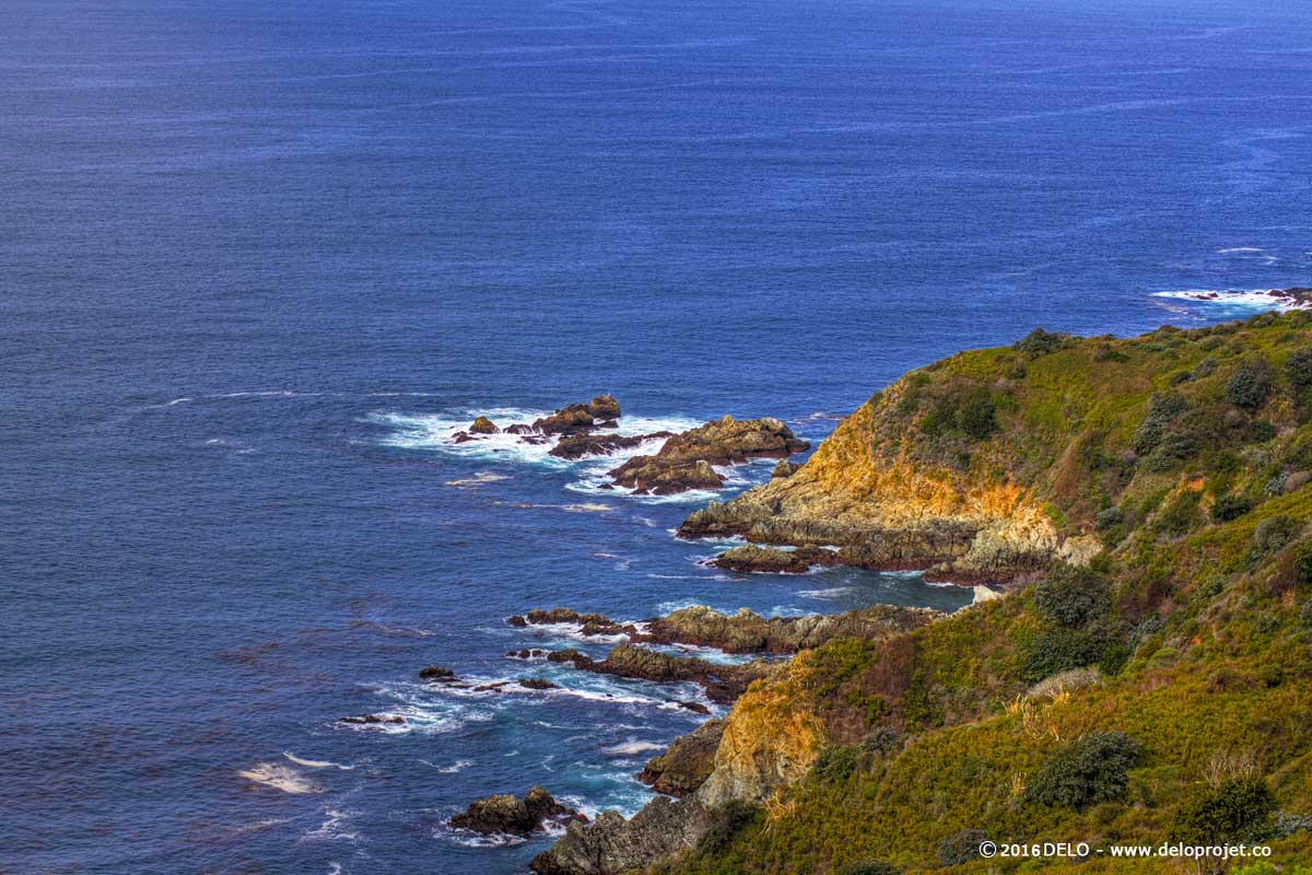 Pacific Coast Highway Route 1 amazing road