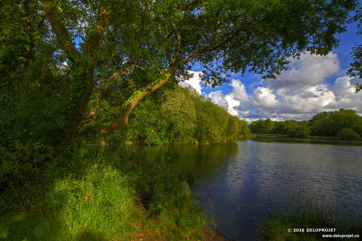 """Walk around """"Lac Bourg Blanc"""" Finistere, Brittany"""