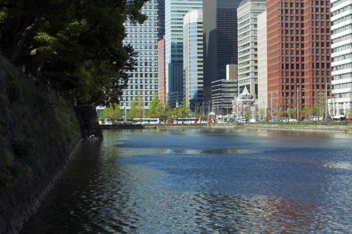 Tokyo, park and building